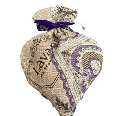 Lavendelsäckchen Herz